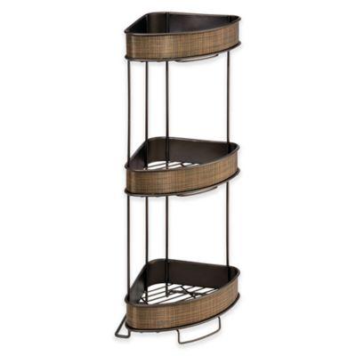 Buy Bronze Bathroom Shelves from Bed Bath & Beyond