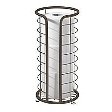 Interdesign forma freestanding 3 roll toilet paper holder bed bath beyond - Interdesign toilet paper holder ...