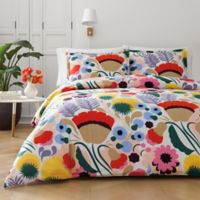marimekko® Ojakellukka King Duvet Cover Set in Red