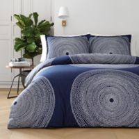 marimekko® Fokus King Duvet Cover Set in Navy