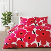 marimekko® Unikko King Comforter Set in Red