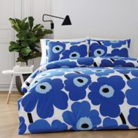marimekko® Unikko Twin Comforter Set in Blue