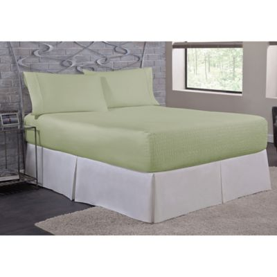 High Quality Bed Tite™ Soft Touch Twin Sheet Set In Sage