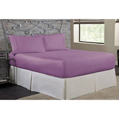 bed tite soft touch queen sheet set in lilac - Liliac Bedding