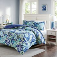 Intelligent Design Melissa 2-Piece Twin Comforter Set in Navy