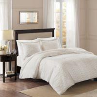 Premier Comfort Sloan Chevron 2-Piece Twin Comforter Set in Ivory