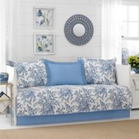 Laura Ashley® Bedford Daybed Set in Blue