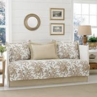 Laura Ashley® Bedford Daybed Set in Brown