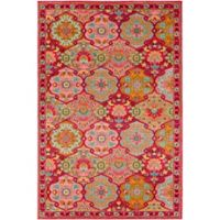 Surya Anika 2-Foot x 3-Foot Accent Rug in Bright Pink