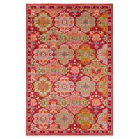 Surya Anika 5-Foot 3-Inch x 7-Foot x 3-Inch Area Rug in Bright Pink