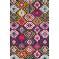 Surya Anika Nomadic 2-Foot x 3-Foot Accent Rug in Purple