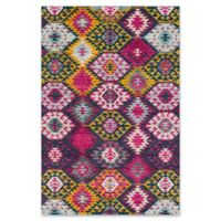 Surya Anika Nomadic 5-Foot 3-Inch x 7-Foot 3-Inch Area Rug in Purple