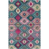 Surya Anika Nomadic 7-Foot 10-Inch x 10-Foot 3-Inch Area Rug in Teal
