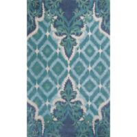 Bob Mackie Home Opulence 8-Foot x 11-Foot Area Rug in Blue/Green