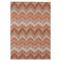 Feizy Cerys Sunset 2-Foot x 4-Foot Accent Rug in Orange