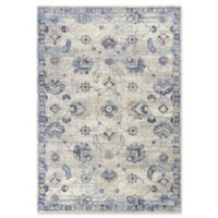 KAS Seville Sutton 3-Foot 3-Inch x 4-Foot 11-Inch Accent Rug in Grey/Blue