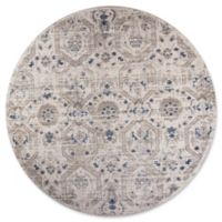 KAS Seville 7-Foot 7-Inch Round Area Rug in Ivory