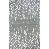 KAS Bob Mackie Home Tranquility 8-Foot x 11-Foot Area Rug in Silver