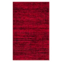 Safavieh Adirondack Heather 2-Foot 6-Inch x 4-Foot Accent Rug in Red