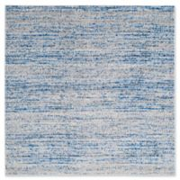 Safavieh Adirondack Heather 4-Foot Square Accent Rug in Blue
