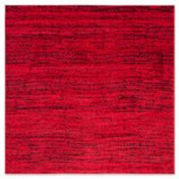 Safavieh Adirondack Heather 4-Foot Square Accent Rug in Red