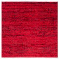 Safavieh Adirondack Heather 4-Foot Square Accent Rug in Red