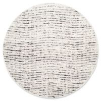 Safavieh Adirondack Heather 4-Foot Round Accent Rug in Ivory