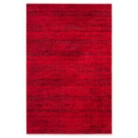 Safavieh Adirondack Heather 5-Foot 1-Inch x 7-Foot 6-Inch Area Rug in Red