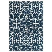Feizy Rugs Pia 5-Foot 6-Inch x 8-Foot Area Rug in Navy