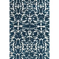 Feizy Rugs Pia 8-Foot x 11-Foot Area Rug in Navy
