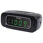 Timex® Alarm Clock with USB Charger Outlet
