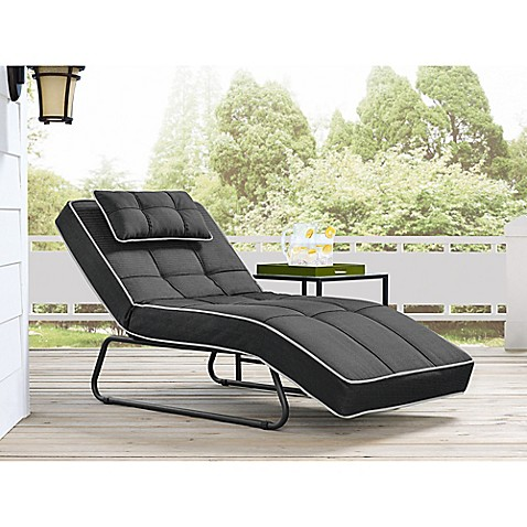 Relax A Lounger Bayshore Outdoor Convertible Chaise Bed