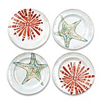 Cayman Melamine Appetizer Plate (Set of 4)