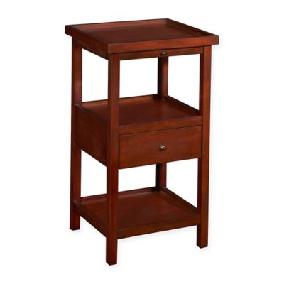 Powell Palmer Accent Table In Cherry Design