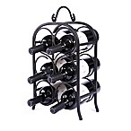 Oenophilia 6-Bottle Wine Arch in Black