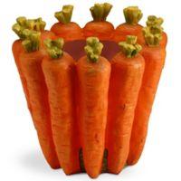 National Tree Company 8-Inch Carrot Flower Pot