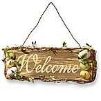 National Tree Company 21-Inch Easter Welcome Sign