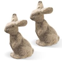 National Tree Company 11-Inch Bunny Pair (Set of 2)