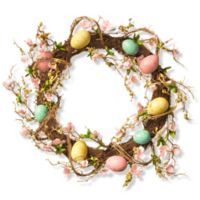 National Tree Company 18-Inch Easter Egg Wreath