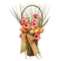 National Tree Company 23-Inch Easter Wall Basket
