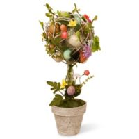 National Tree Company Garden Accents 17-Inch Easter Egg Topiary