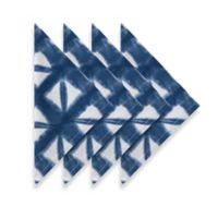 Harbee Printed Napkins in Blue (Set of 4)