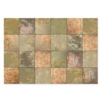 The Softer Side by Weather Guard™ Clean Slate 46-Inch x 66-Inch Kitchen Mat in Warm Chestnut