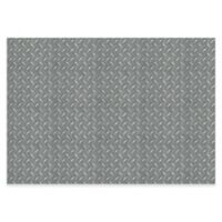 The Softer Side by Weather Guard™ Diamond Plate 46-Inch x 66-Inch Kitchen Mat in Grey