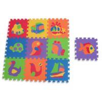 Edushape® Edutile™ 10-Piece Puzzle Play Mat