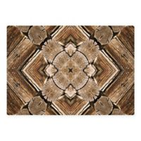 The Softer Side by Weather Guard™ 46-Inch x 66-Inch Rustic Wood Scope Kitchen Mat