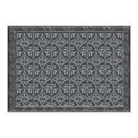The Softer Side by Weather Guard™ 46-Inch x 66-Inch Pewter Tin Tile Kitchen Mat