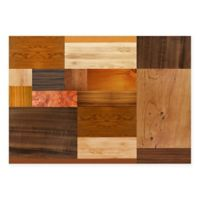 The Softer Side By Weather Guard™ 46-Inch x 66-Inch Exotic Woods Kitchen Mat