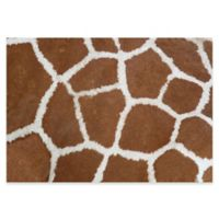 The Softer Side by Weather Guard™ 46-Inch x 66-Inch Giraffe Kitchen Mat