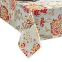 Adria 60-Inch x 120-Inch Oblong Tablecloth with Umbrella Hole